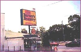 barney's beanery, favorite eating and drinking establishment for Jim Morrison