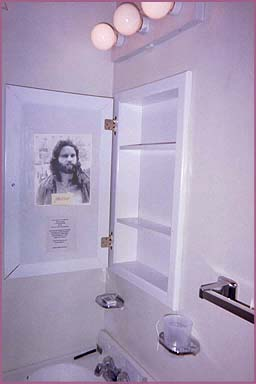 Jim Morrison's bathroom at the Alta Cienega