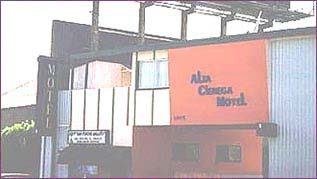 Alta Cienega Moter Hotel on Sunset Strip, home to Jim Morrison