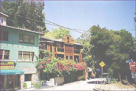 Jim Morrison's Rothdell Trail home