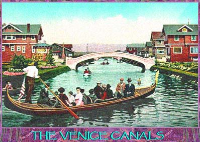 Venice Beach Gondola The Best Beaches In World